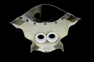 Vrchní díl cestovní - maska s projektory a plexisklem - SET