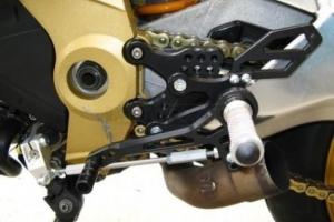 Rear set ARP - Aprilia RSV Tuono 2006-11
