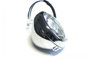 světlomet-Chrom 4 1/2 palce