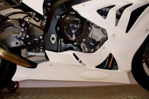 BMW S 1000 RR 2012-2014 (RR/HP4) - ukázka dílů GFK na moto