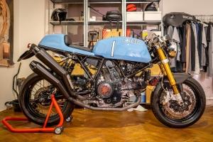 Přední blatník na Ducati GT 1000