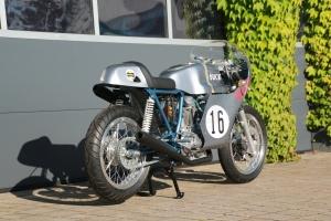 Ducati ST2 Imola - sedlo verze 2 na moto