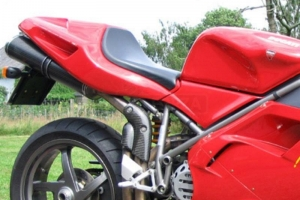 Exhaust cover on bike