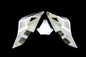 Sedlo otevřené original polster,  GFK, Ducati 1299 Panigale