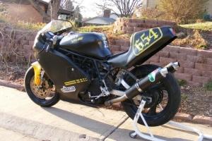 Díly motoforza na motocyklu - přestavba Ducati 750 / 620ss rám