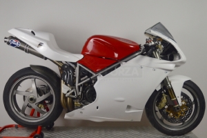 Ducati 996R 998 - Boční díl Pravý GFK,  na moto