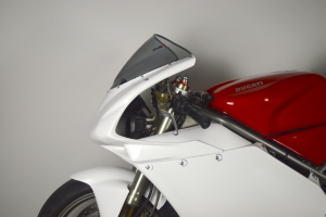 Ducati, 998, 2002 Boční díl Levý, GFK na moto