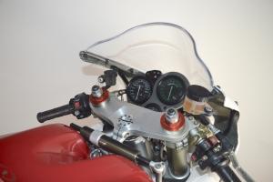 Ducati, 996R 998  boční díl L racing,  GFK - díly Motoforza na moto - racing držák