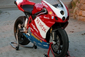 Parts on bike