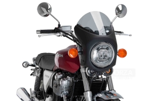 UNI Polokapotáž CAFE RACER RETRO - SET - Honda CB 1100 2013-2019 - plexi lehký kouř