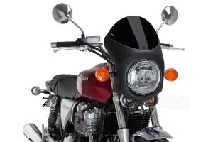 UNI Polokapotáž CAFE RACER RETRO - SET - Honda CB 1100 2013-2019 - plexi černé