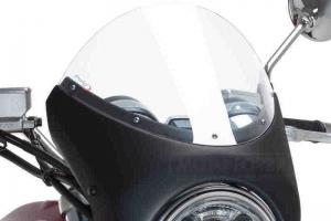 UNI Polokapotáž CAFE RACER RETRO - SET - Honda CB 1000R 2018-2019  - čiré plexi