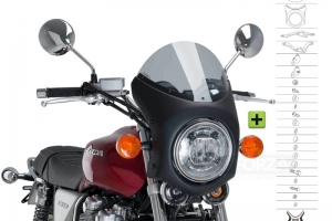 UNI Polokapotáž CAFE RACER RETRO - SET - Honda CB 1100 2013-2019