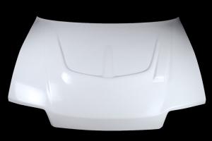 Racing Přední kapota - zvýšená na Honda civic cg4 1988-1991 -  GFK - sklolaminát