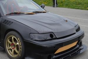 Racing Přední kapota - zvýšená ED9 Honda CRX1989-1991 - sklolaminát, probarvený GFK, Performance