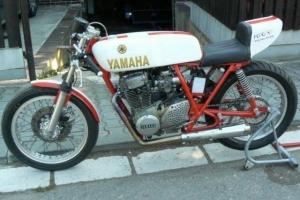 díly Motoforza - Sedlo,Nádrž UNI / HONDA na Yamaha XS400 DOHC