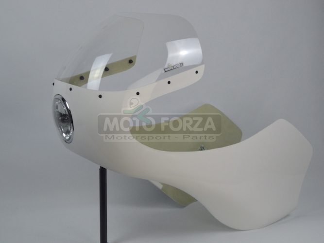 UNI / Honda 750 -  Kapotáž se světlem 5 3/4 palce - SET, GFK