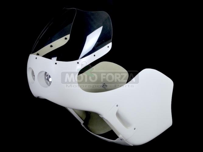 Honda CB 250,350,450,500 Kapotáž se světlem 2x90mm - Set Honda CR 500cc /CR 450cc, GFK
