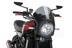 UNI Polokapotáž CAFE RACER RETRO - SET Kawasaki Z900RS 2018-2020 - lehce kouřové plexi