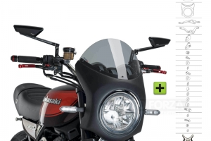 UNI Polokapotáž CAFE RACER RETRO - SET Kawasaki Z900RS 2018-2020
