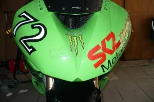 Kawasaki ZX-6R Ninja 2009-2012 Díly motoforza na moto