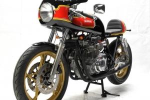 Polokapotáž - Laverda, Motoguzzi atd SET - předchystané plexi, světlomet s držáky na Suzuki GS650