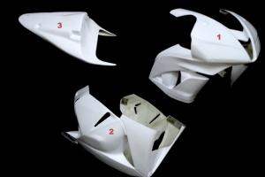 Complete set 3-pieces racing  version