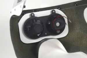 SET - UNI Polokapotáž styl Bol d'Or - Projektory 2x90mm, s vyřezaným a provrtaným plexi, světlometem 2x90mm, držáky pro světlomet, šrouby na plexi, kryty světel z plexiskla - PERFORMANCE