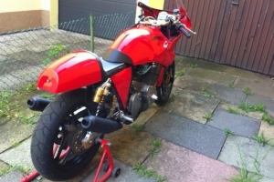 Seat on bike Laverda RGS 1000