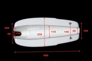 nádrž MV Agusta 350ss  - rozměry