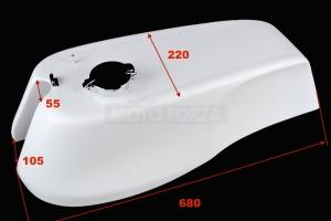 Motoforza nádrž GFK  MV Agusta 500-750cc   Monza zátka -  rozměry