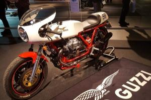 Rickman Metisse Avon Triumph - nádrž na moto -  Moto Guzzi 1000 SP 1983