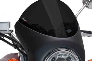 UNI Polokapotáž CAFE RACER RETRO - SET Suzuki GSX 750 - tmavě kouřové Plexi