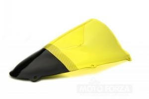 Suzuki TL 1000R 1998-2002 Plexi - Racing (dvojbublina), ukázka žluté