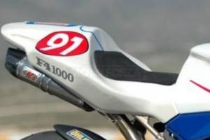 UNIVERSAL Pěna Pryž na sedlo racing 500x400x12 - RACING