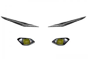 Samolepky světlometů Yamaha YZF R1 2020-