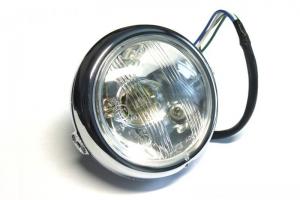 Kapotáž se světlem 4 1/2 palce - SET Yamaha TZ,TR,XS,RD5