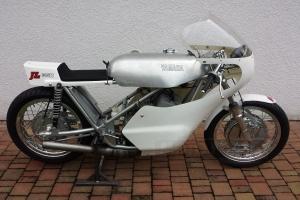 Yamaha TZ 250, 350 air  - parts Motoforza on bike  Seeley Yamaha
