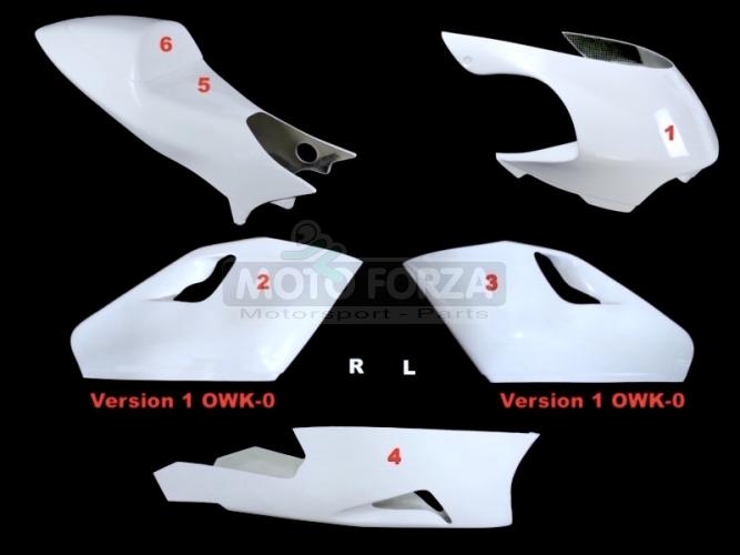 Kompletní sada 5-dílná Racing OWK-0